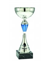 Calera Silver and Blue Cup