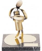 Agean Cooking Chef Handmade Metal Trophy