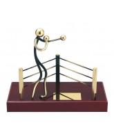 Aragon Boxing Ring Handmade Metal Trophy