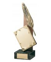 Austen Literature Handmade Metal Trophy