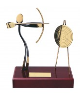 Barcelona Archery Handmade Metal Trophy