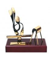 Barcelona Artistic Gymnastics Handmade Metal Trophy