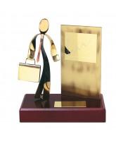 Barcelona Business Person Handmade Metal Award