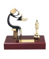 Barcelona Chess Handmade Metal Trophy