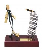Barcelona Futsal Indoor Football Player Handmade Metal Trophy