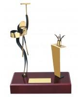 Barcelona Photography Handmade Metal Trophy