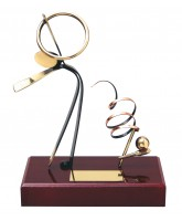 Barcelona Rhythmic Gymnastics Handmade Metal Trophy