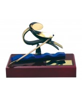 Barcelona Rowing Handmade Metal Trophy