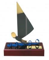 Barcelona Sailing Handmade Metal Trophy