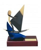 Barcelona Windsurfing Handmade Metal Trophy