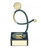 Bilbao Bowls Handmade Metal Trophy