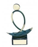 Bilbao Surfing Handmade Metal Trophy