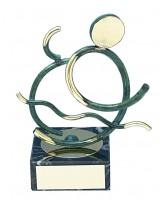 Bilbao Triathlon Handmade Metal Trophy