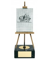 Blake Art Handmade Metal Trophy