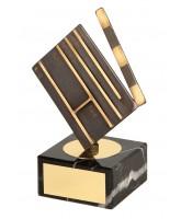Burton Film Making Clapperboard Handmade Metal Trophy