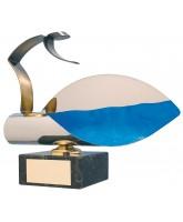 Cadiz Diving Handmade Metal Trophy