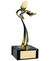 Cadiz Hairdressing Handmade Metal Trophy