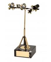 Capra Film Making Lights Handmade Metal Trophy
