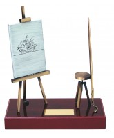 Dali Art Handmade Metal Trophy