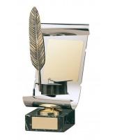 Dickens Literature Handmade Metal Trophy