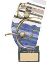 Eibar Water Polo Handmade Metal Trophy