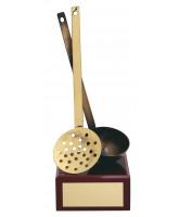 Gallcia Cooking Handmade Metal Trophy