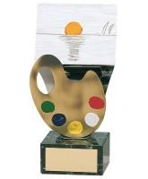 Greco Art Handmade Metal Trophy
