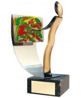 Miro Art Handmade Metal Trophy