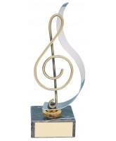 Murcia Musical Note Handmade Metal Trophy