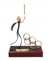 Olympiad Handmade Metal Trophy