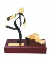 Olympian Athletics Handmade Metal Trophy