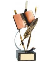 Orwell Literature Handmade Metal Trophy
