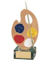 Picasso Art Handmade Metal Trophy