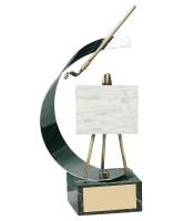 Renoir Art Handmade Metal Trophy
