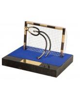 Ronda Futsal Indoor Football Goalkeeper Handmade Metal Trophy