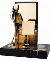 Salon Hairdressing Handmade Metal Trophy