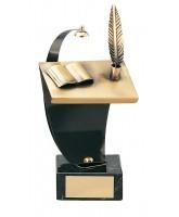 Shakespeare Literature Handmade Metal Trophy