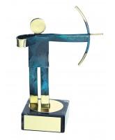 Toledo Archery Handmade Metal Trophy