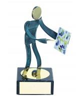 Toledo Artist Handmade Metal Trophy