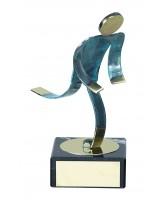 Toledo Athletics Handmade Metal Trophy