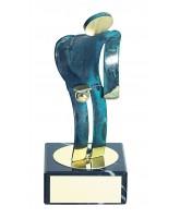 Toledo Bowls Handmade Metal Trophy