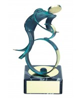 Toledo Cycling Handmade Metal Trophy