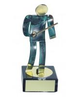 Toledo Fencing Handmade Metal Trophy