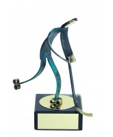 Toledo Ice Hockey Handmade Metal Trophy