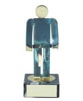 Toledo Judo Handmade Metal Trophy