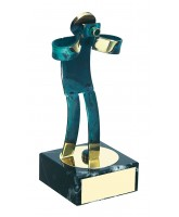Toledo Photography Handmade Metal Trophy