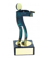 Toledo Pistol Shooting Handmade Metal Trophy