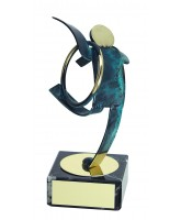 Toledo Rhythmic Gymnastics Handmade Metal Trophy