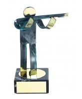Toledo Rifle Shooting Handmade Metal Trophy