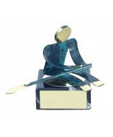 Toledo Rowing Handmade Metal Trophy